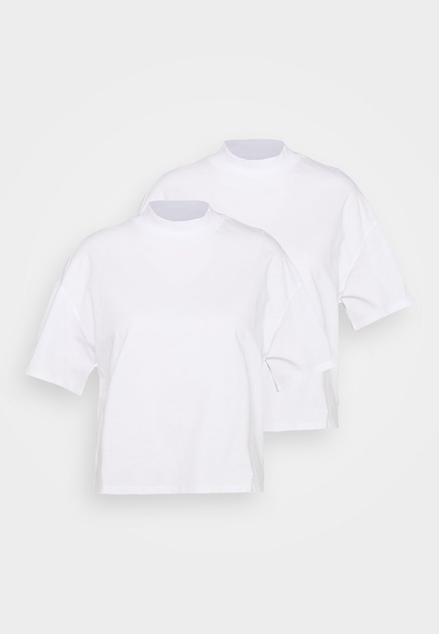 INA 2 PACK  - T-shirts print - white light