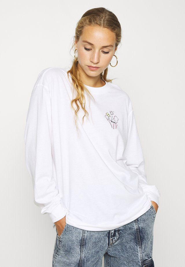 KLARA - Long sleeved top - white