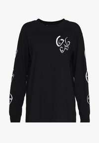 Monki - KLARA - Maglietta a manica lunga - black - 0
