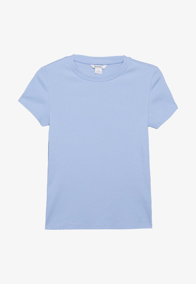 Monki - MAGDALENA TEE 2 PACK - T-shirts med print - white/blue light