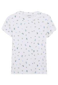 Monki - MAGDALENA TEE 2 PACK - T-shirts med print - white/blue light - 2