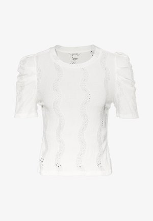 VIVI TOP - T-shirt basique - white