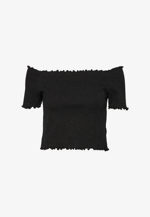 SIGBRITT - T-shirts - black dark