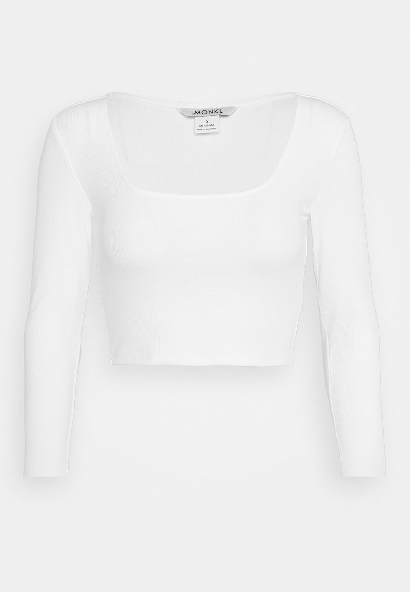 Monki - ALBA  - Langarmshirt - white light
