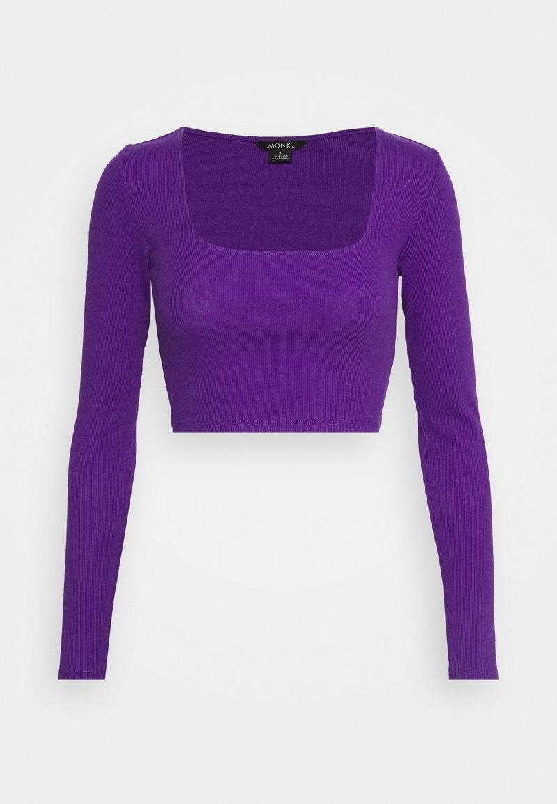 Monki - ALBA  - Topper langermet - lilac purple bright