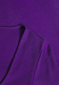 Monki - ALBA  - Topper langermet - lilac purple bright - 2