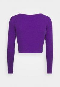 Monki - ALBA  - Topper langermet - lilac purple bright - 1