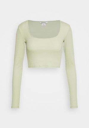 ALBA  - Long sleeved top - green dusty light