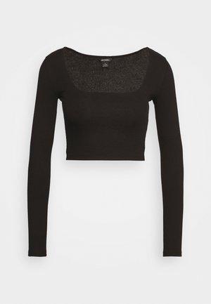 ALBA  - Long sleeved top - black dark