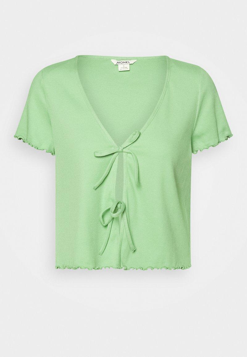 Monki - NILLAN - T-shirt z nadrukiem - green