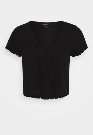 NILLAN - T-shirts med print - black