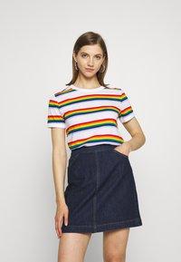 Monki - SARA TEE 2 PACK - T-shirt print - white light - 4