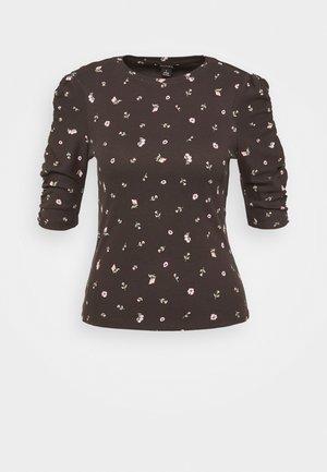 PIRI - T-shirt con stampa - offblack