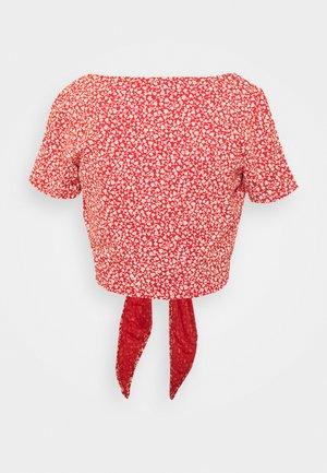 SINA - Camiseta estampada - red