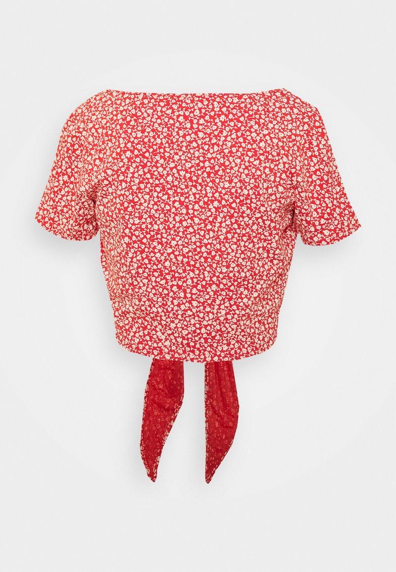 Monki - SINA - T-shirts med print - red