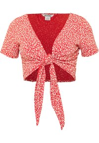 Monki - SINA - T-shirts med print - red - 2