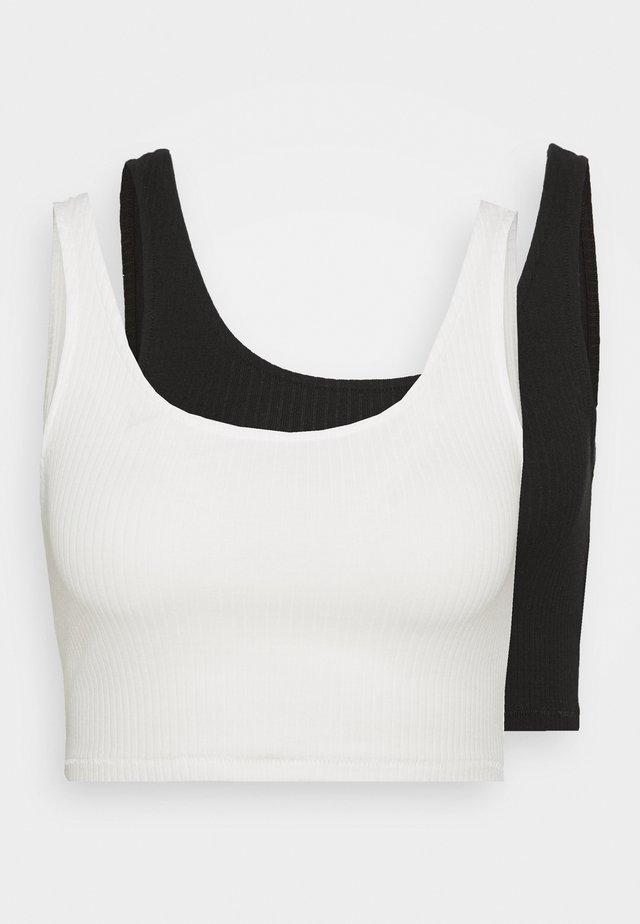KEY - Top - white/black
