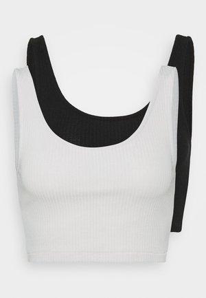 KEY 2 PACK - Top - grey/black