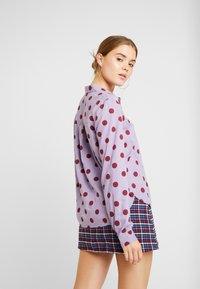 Monki - NADINA BLOUSE - Skjorte - purple - 2