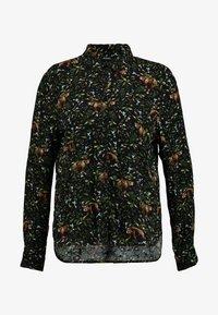 Monki - NADINA BLOUSE - Button-down blouse - green - 3