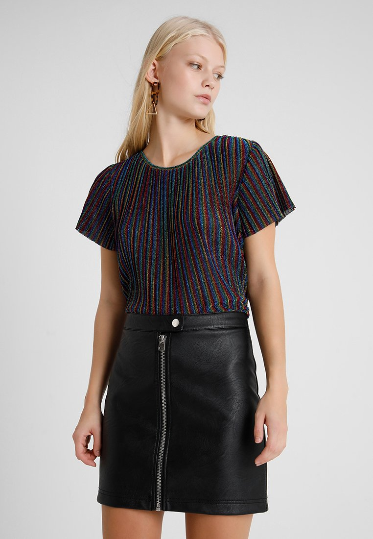 Monki - VIVVI - T-Shirt print - multi/rainbow