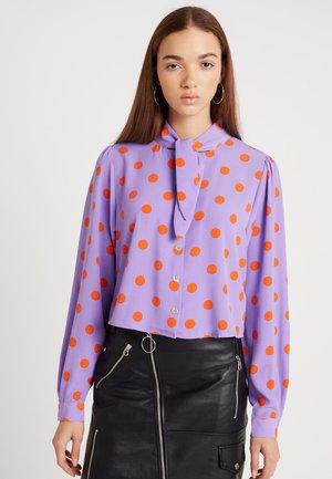 TIA BLOUSE - Camisa - purple