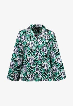 ANNELIE BLOUSE - Overhemdblouse - green/black
