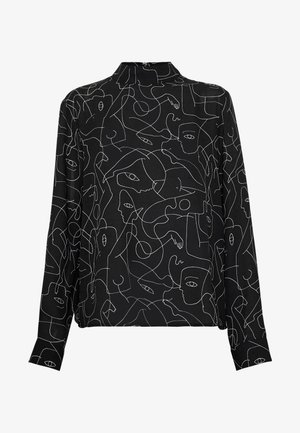 ISOLDE BLOUSE - Blouse - black