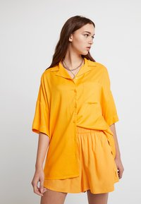 Monki - BERTA BLOUSE - Košile - orange - 0