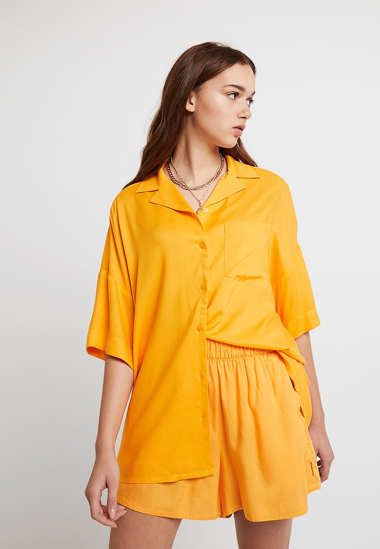 Monki - BERTA BLOUSE - Košile - orange