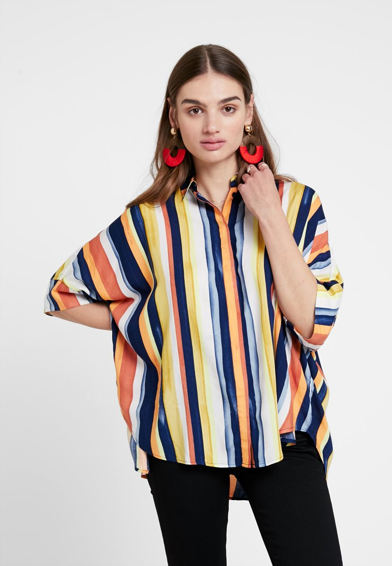 Monki - LUKA BLOUSE - Košile - multicolor