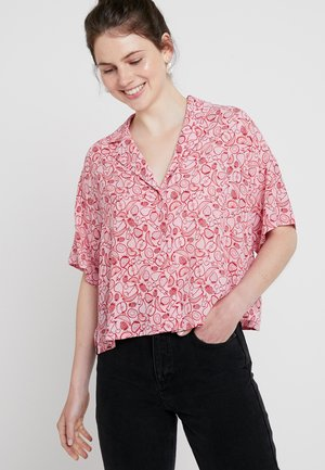RITA BLOUSE - Button-down blouse - pink