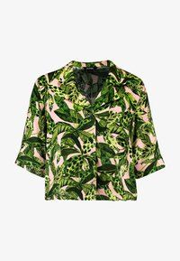 Monki - BONNY BLOUSE - Button-down blouse - newfoliage - 4