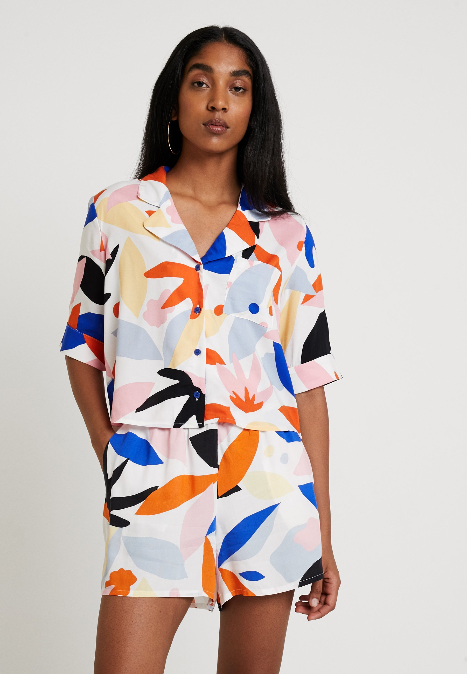 Blouse Bonny Bonny Monki UniqueBlue Monki 2EH9DWI