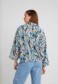 Monki - CATY BLOUSE - Button-down blouse - white - 2