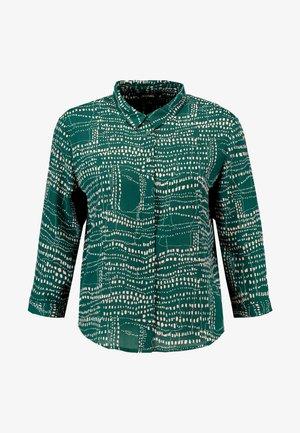 HELLA BLOUSE - Button-down blouse - dark green