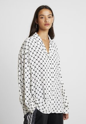 HEARTCHAIN - Blouse - white/black