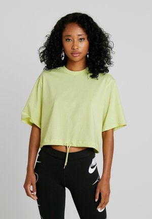 ABELA - T-shirt basique - lime green/yellow