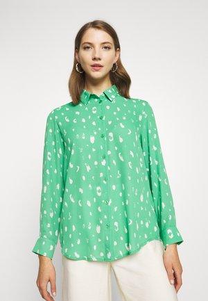 ASSA BLOUSE - Button-down blouse - green medium
