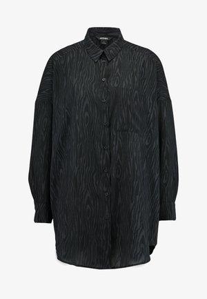 CATCHING PRINTED BLOUSE - Camisa - dark grey