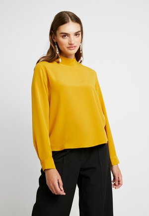 ISOLDE BLOUSE - Blusa - yellow