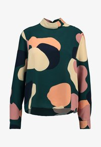 Monki - ISOLDE BLOUSE - Blouse - green - 4