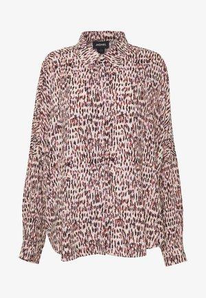 LUCY BLOUSE - Button-down blouse - lilac/purple/light crayon