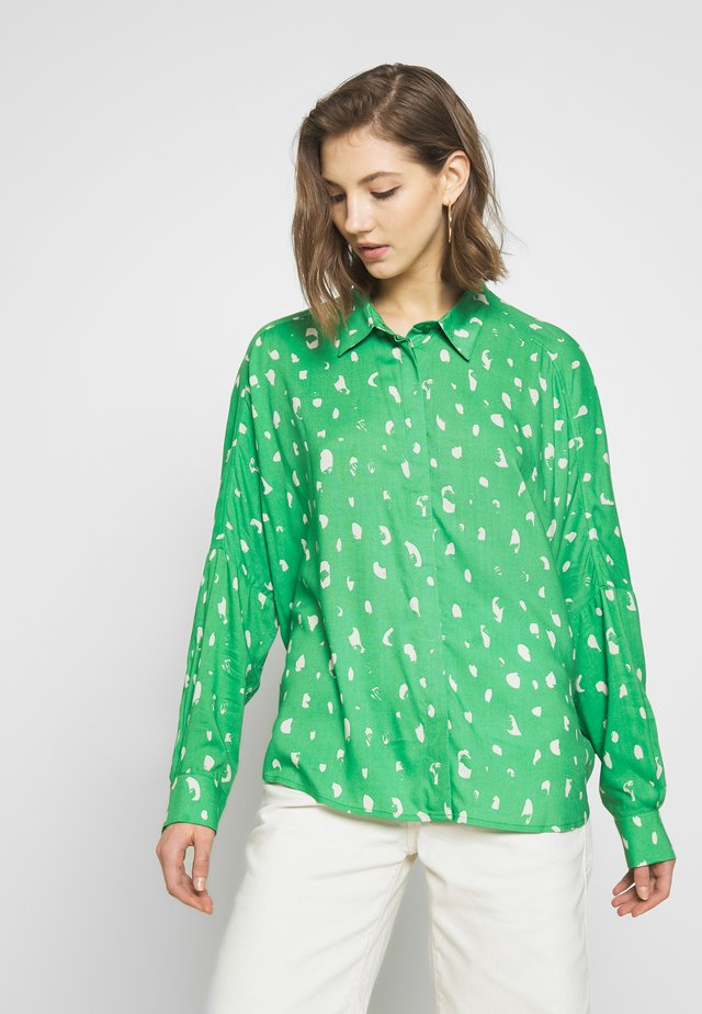 LUCY BLOUSE - Button-down blouse - green