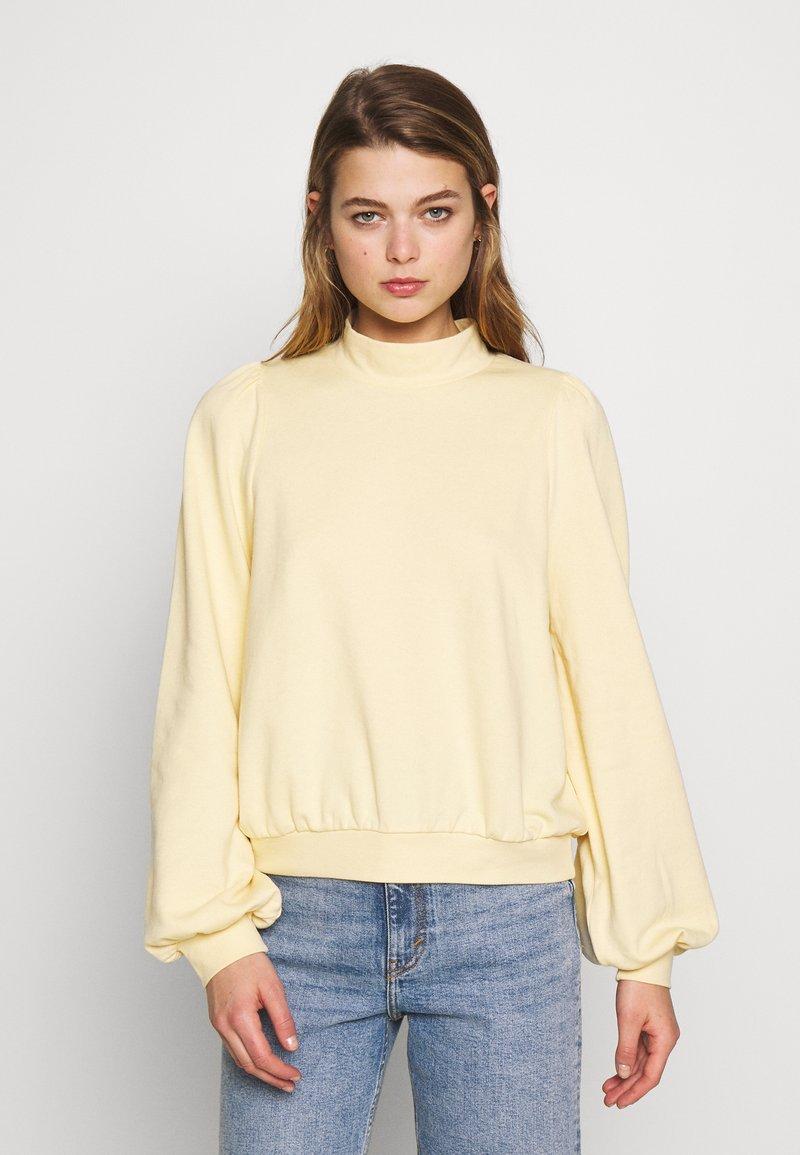 Monki - Sweatshirt - yellow light