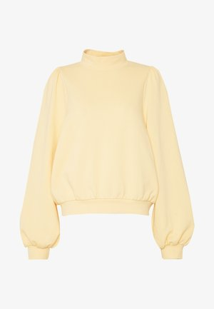 Sweatshirt - yellow light