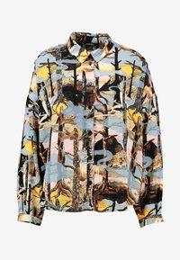 Monki - CAMILLE BLOUSE - Overhemdblouse - turquoise forest - 4