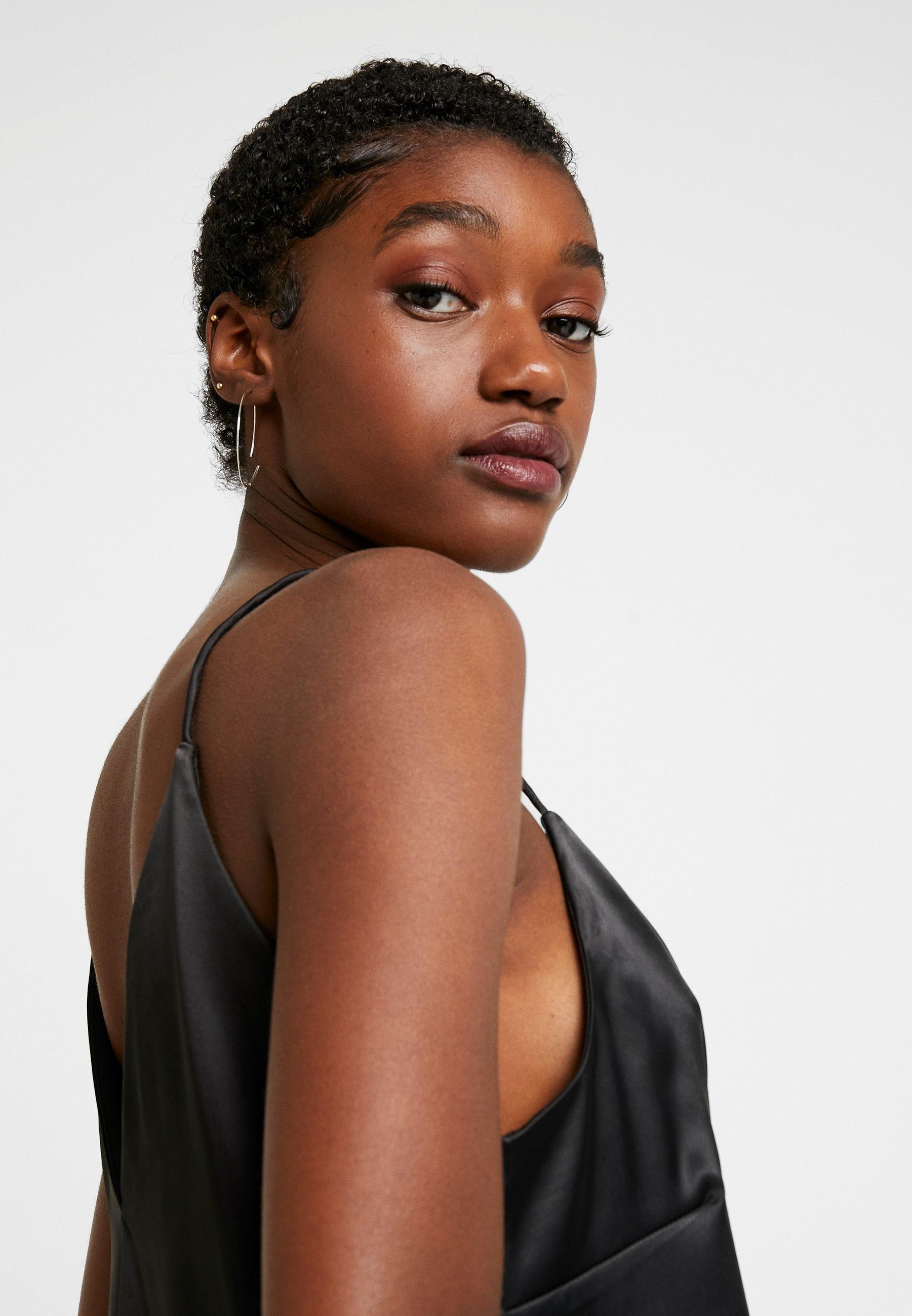 Monki ELANIA SINGLET - Topper - black