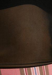 Monki - JAVA - Maglietta a manica lunga - chain black - 5