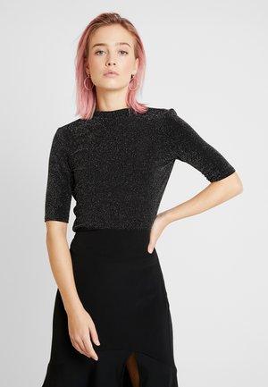 KIMYA - T-shirt con stampa - black